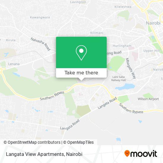 Langata View Apartments map