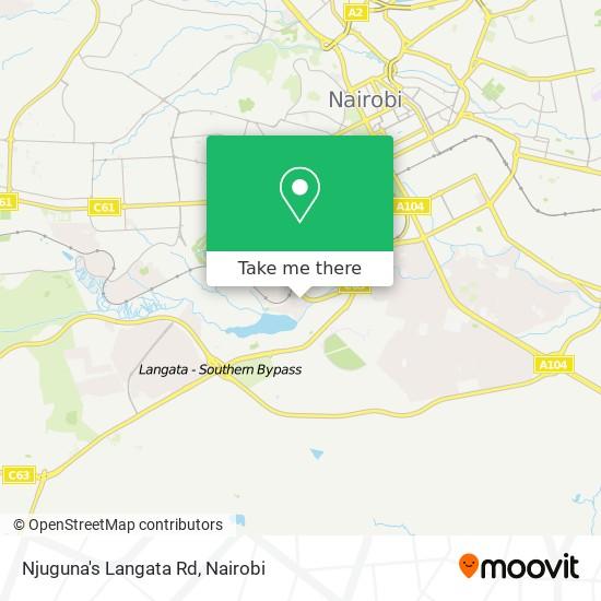 Njuguna's Langata Rd map