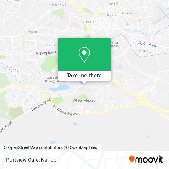 Portview Cafe map