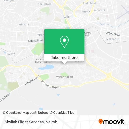 Skylink Flight Services map