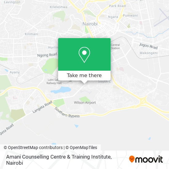 Amani Counselling Centre & Training Institute map