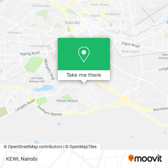 KEWI map