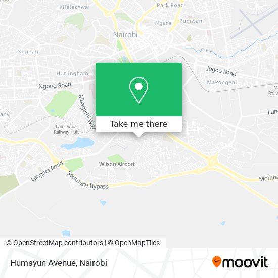 Humayun Avenue map