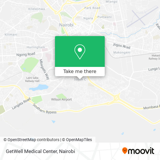 GetWell Medical Center map