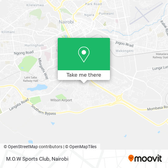 M.O.W Sports Club map