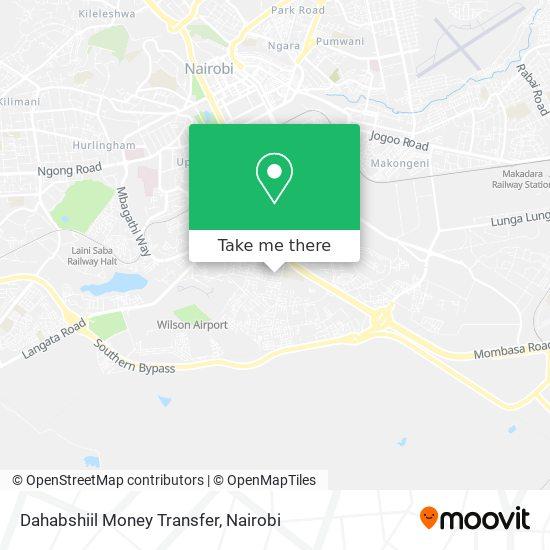 Dahabshiil Money Transfer map