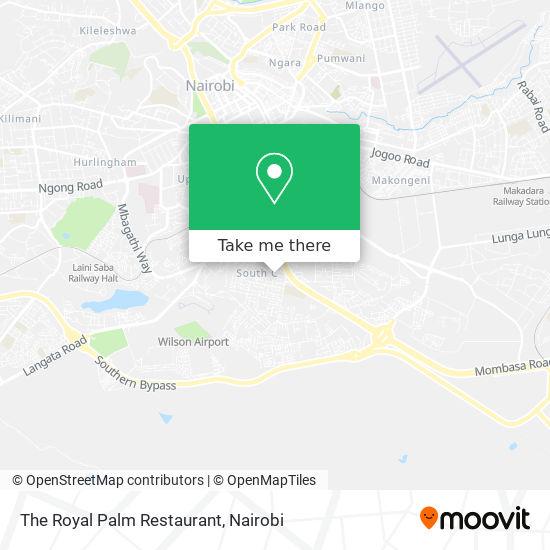 The Royal Palm Restaurant map