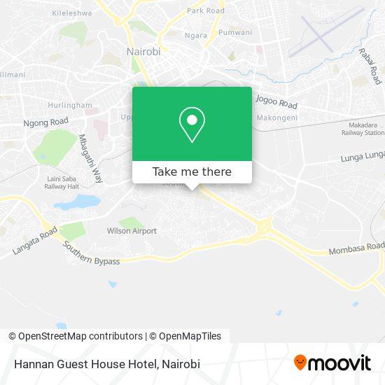 Hannan Guest House Hotel map