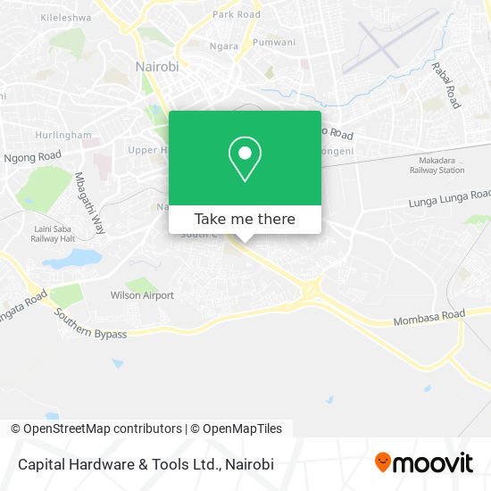 Capital Hardware & Tools Ltd. map