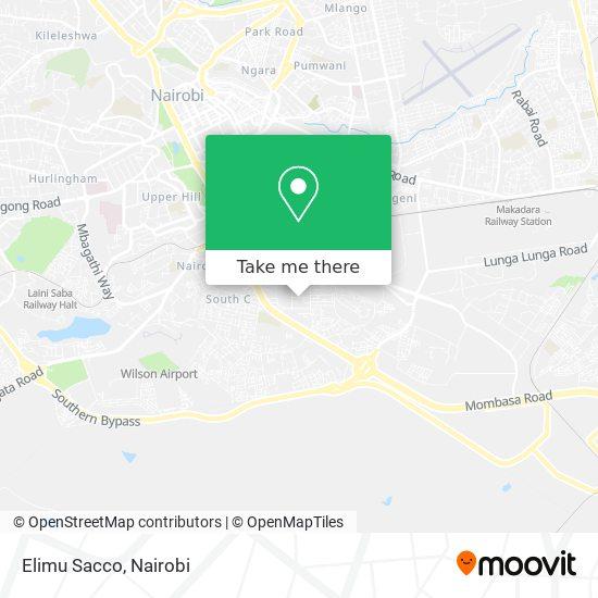 Elimu Sacco map