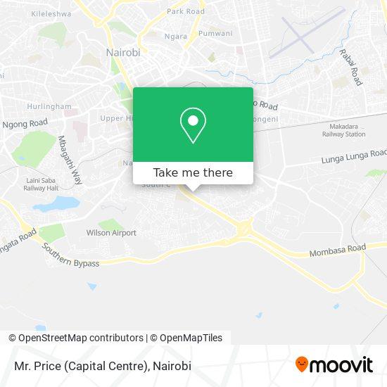Mr. Price (Capital Centre) map