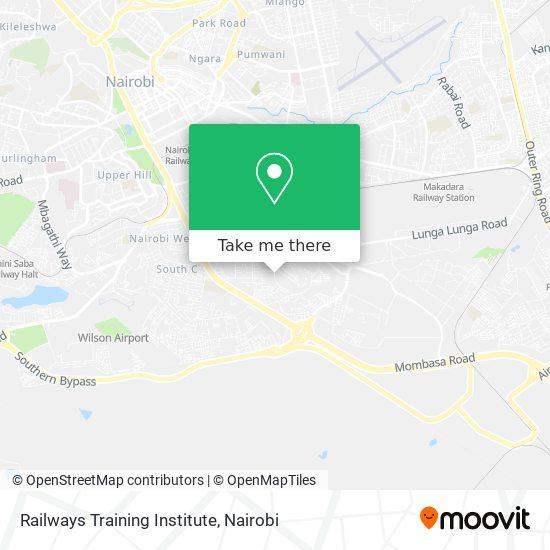 Railways Training Institute map