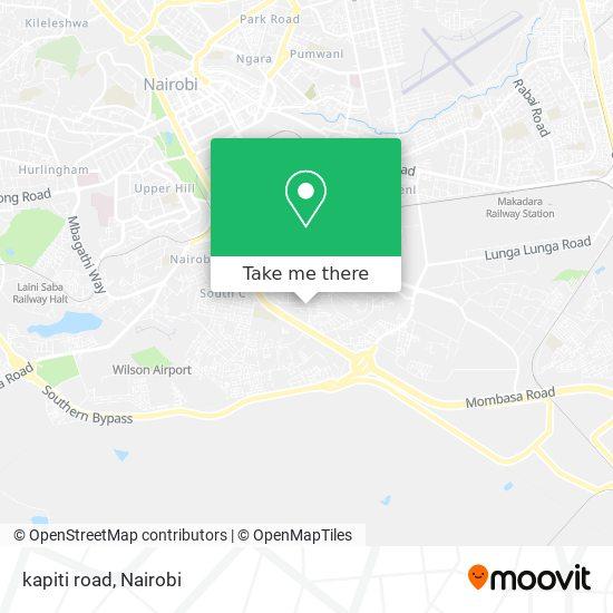 kapiti road map