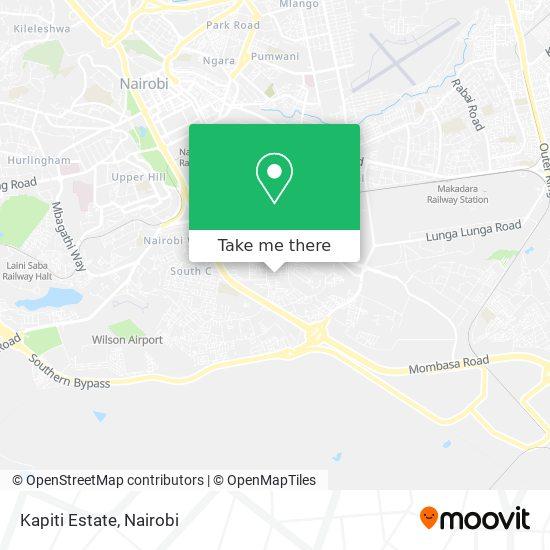 Kapiti Estate map