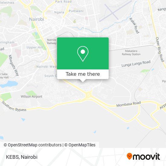KEBS map