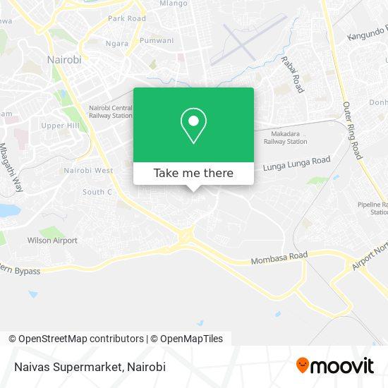 Naivas Supermarket map