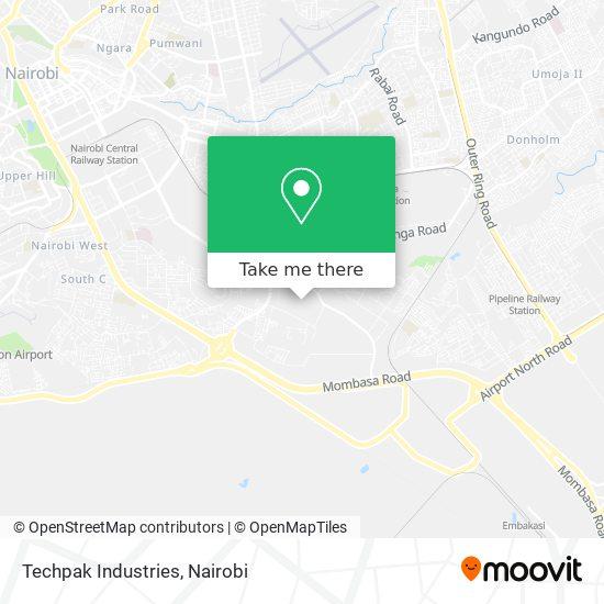 Techpak Industries map