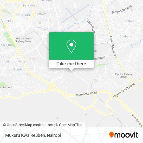 Mukuru Kwa Reuben map