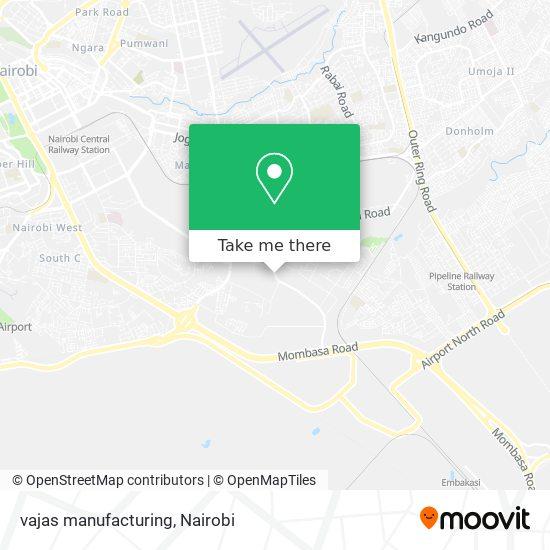 vajas manufacturing map