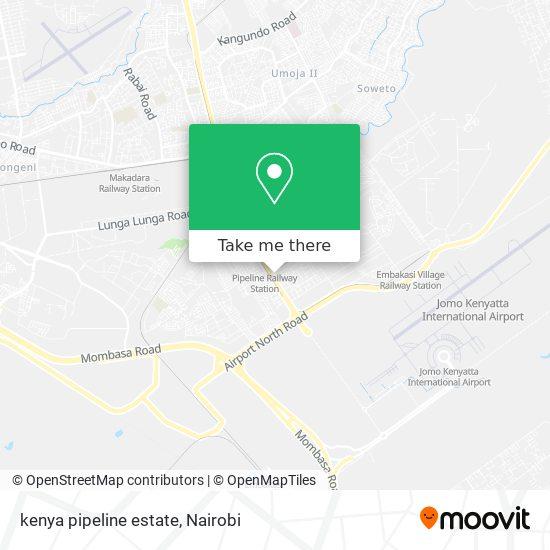 kenya pipeline estate map