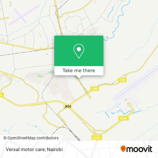 Versal motor care map