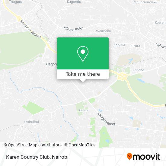 Karen Country Club map