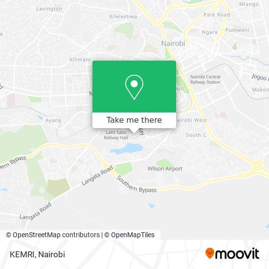 KEMRI map