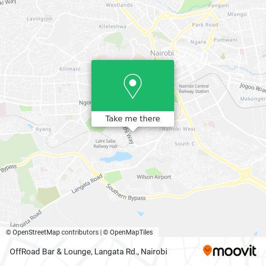 OffRoad Bar & Lounge, Langata Rd. map