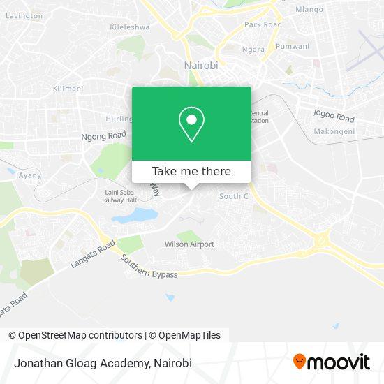 Jonathan Gloag Academy map