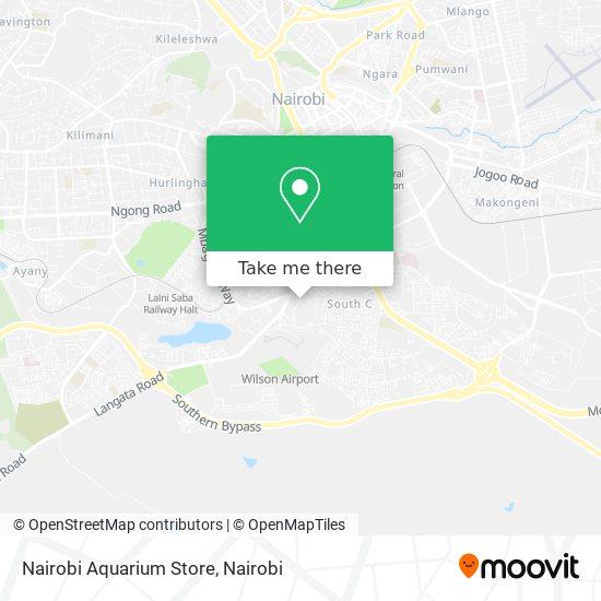 Nairobi Aquarium Store map