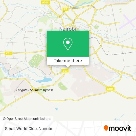 Small World Club map