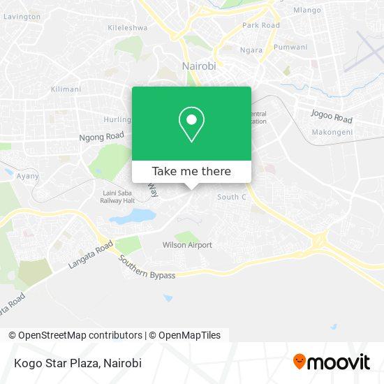 Kogo Star Plaza map