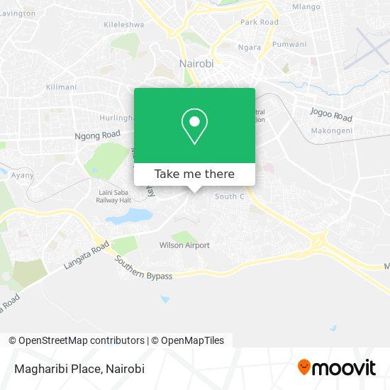 Magharibi Place map