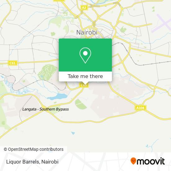 Liquor Barrels map