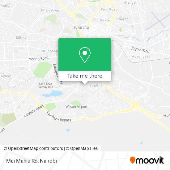 Mai Mahiu Rd map