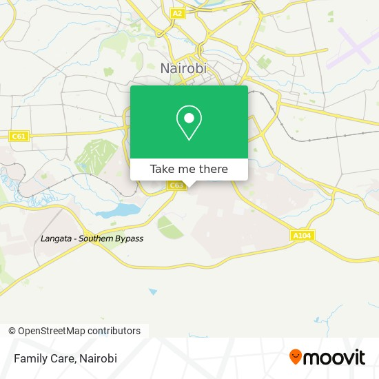 Family Care map