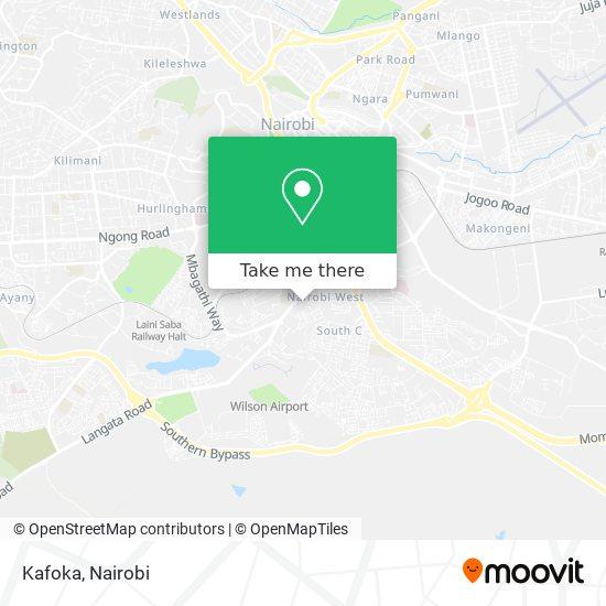 Kafoka map