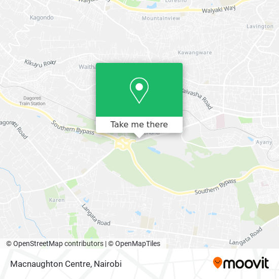 Macnaughton Centre map