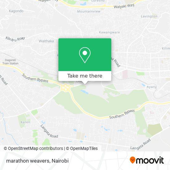 marathon weavers map