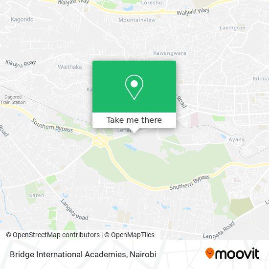 Bridge International Academies map