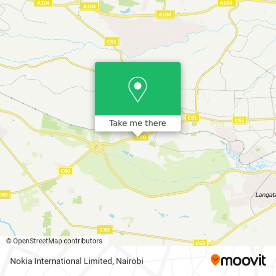 Nokia International Limited map