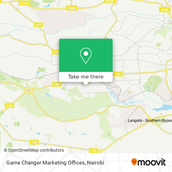 Game Changer Marketing Offices map