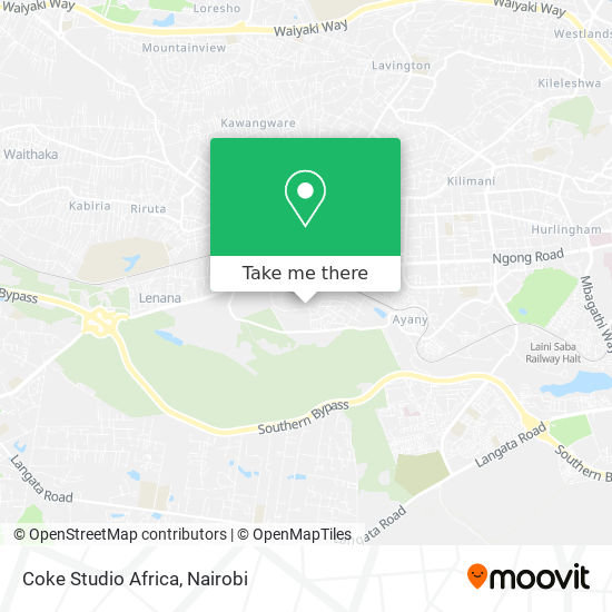 Coke Studio Africa map
