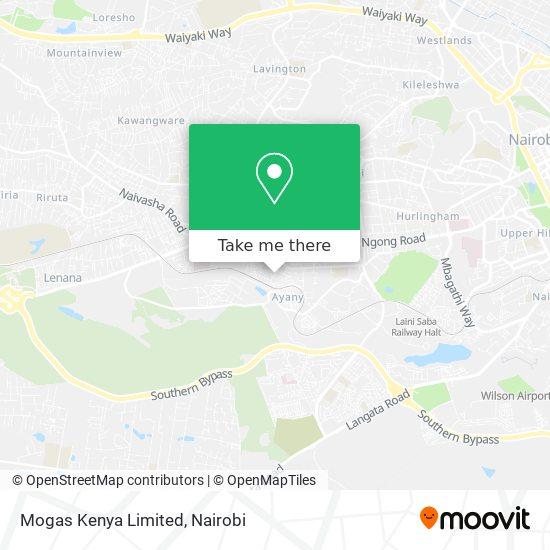 Mogas Kenya Limited map