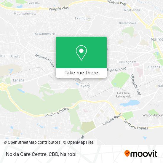 Nokia Care Centre, CBD map