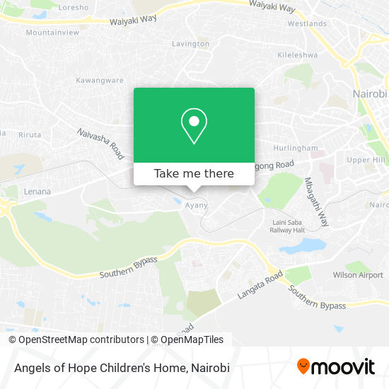 Angels of Hope Children's Home map