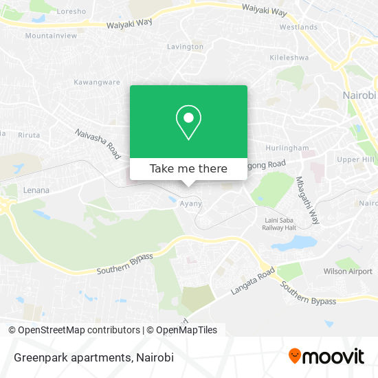 Greenpark apartments map