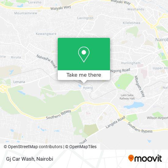 Gj Car Wash map