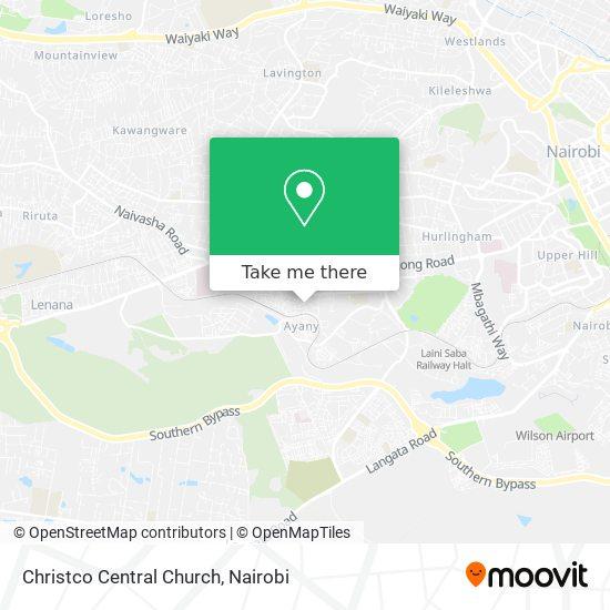 Christco Central Church map