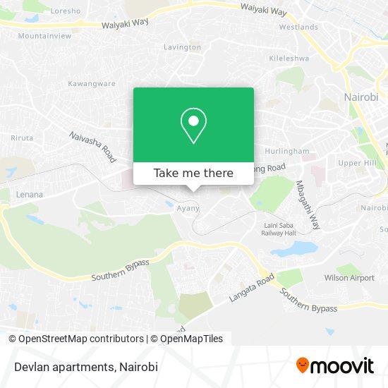 Devlan apartments map